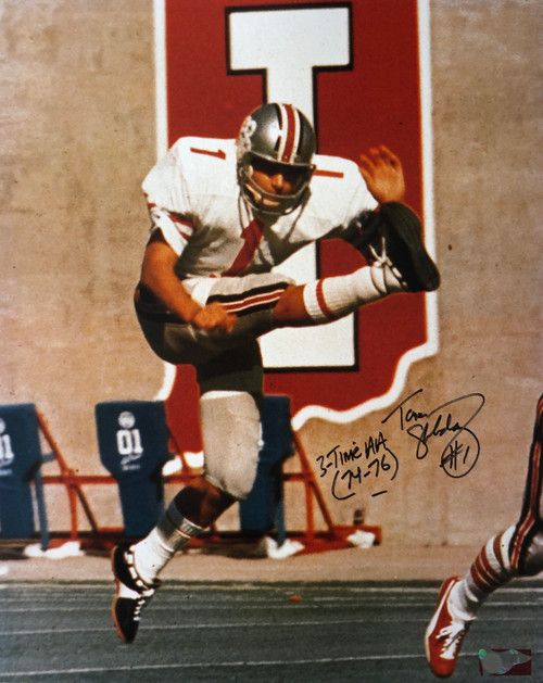 Tom Skladany Ohio State Buckeyes 16-2 16x20 Autographed Photo - Certified Authentic