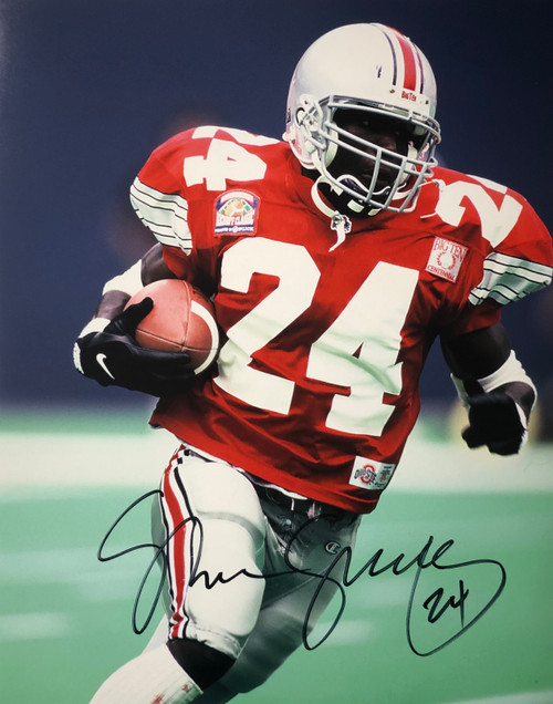 Shawn Springs Ohio State Buckeyes 16-2 16x20 Autographed Photo - Certified Authentic