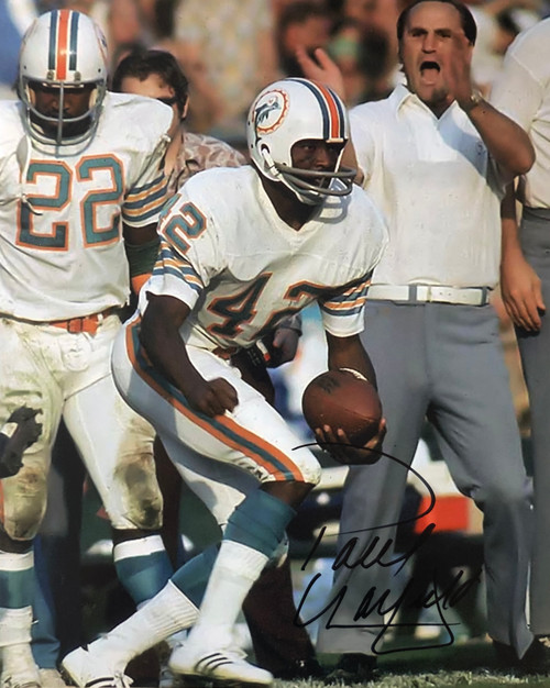 Paul Warfield Miami Dolphins 16-2 16x20 Autographed Photo - Certified Authentic