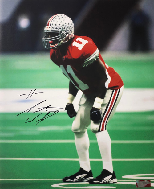Antoine Winfield Ohio State Buckeyes 16-1 16x20 Autographed Photo - Certified Authentic
