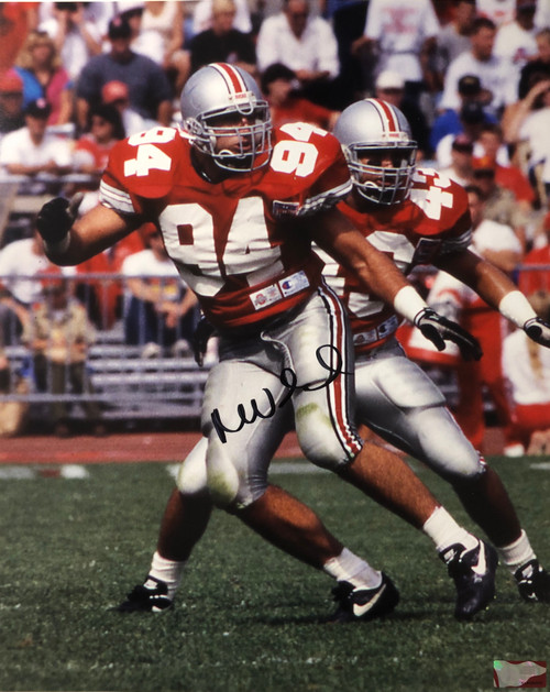 Mike Vrabel Ohio State Buckeyes 16-2 16x20 Autographed Photo - Certified Authentic