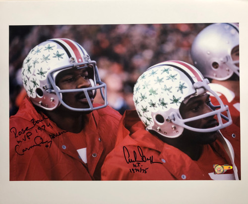 Cornelius Greene & Archie Griffin Ohio State Buckeyes 16-1 16x20 Autographed Photo - Certified Authentic