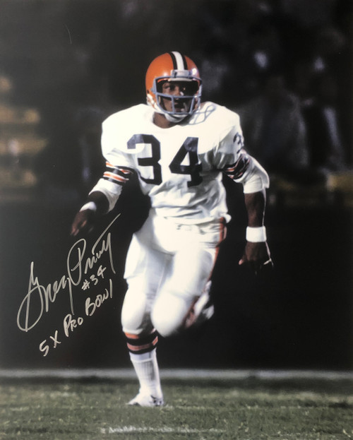 Greg Pruitt Cleveland Browns 16-3 16x20 Autographed Photo - Certified Authentic