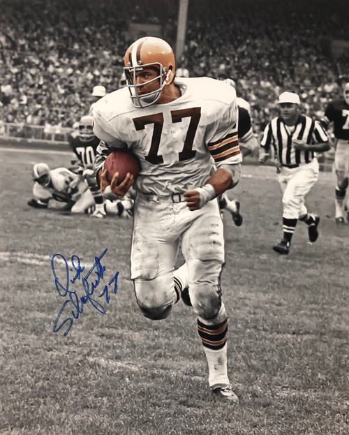 Dick Schafrath Cleveland Browns 16-2 16x20 Autographed Photo - Certified Authentic