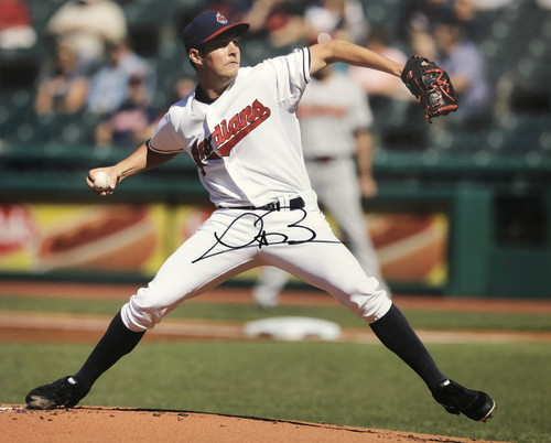 Trevor Bauer Cleveland Indians 16-2 16x20 Autographed Photo - Certified Authentic