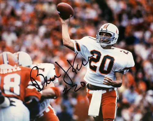 Bernie Kosar Miami Hurricanes 16-3 16x20 Autographed Photo - Certified Authentic