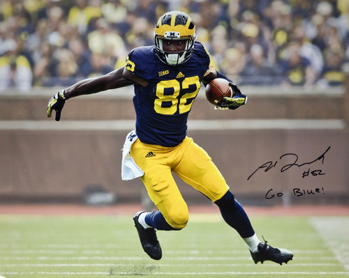 e6ce36c9ba6 Amara Darboh Michigan Wolverines 16-2 16x20 Autographed Photo - Certified  Authentic
