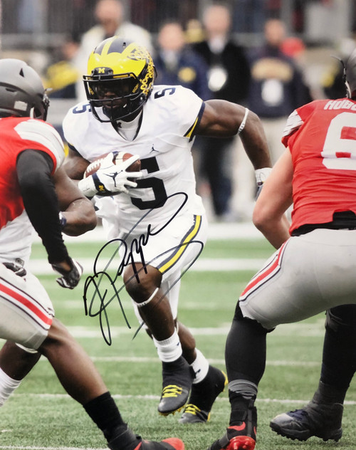 Jabrill Peppers Michigan Wolverines 16-4 16x20 Autographed Photo - Certified Authentic