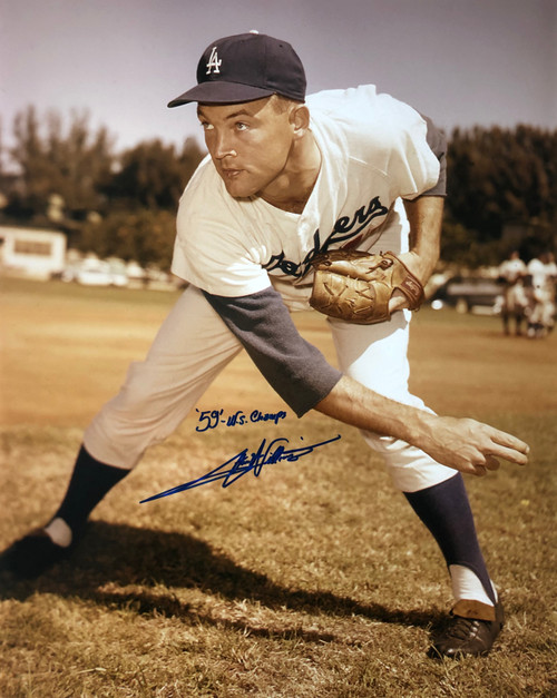Stan Williams Los Angeles Dodgers 16-1 16x20 Autographed Photo - Certified Authentic