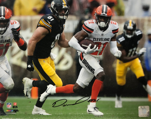 Denzel Ward Cleveland Browns 11-1 11x14 Autographed Photo - Certified Authentic