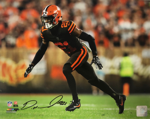 Denzel Ward Cleveland Browns 11-2 11x14 Autographed Photo - Certified Authentic