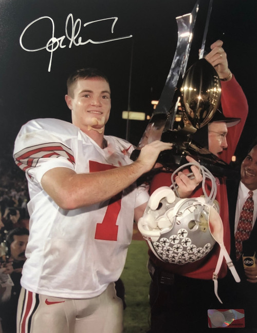 Joe Germaine Ohio State Buckeyes 11-2 11x14 Autographed Photo - Certified Authentic
