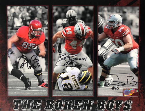 Boren Brothers OSU 11-1 11x14 Autographed Photo - Certified Authentic