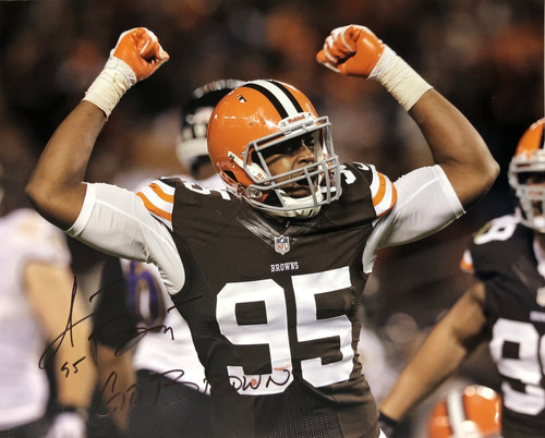 Armonty Bryant Cleveland Browns 16-1 16x20 Autographed Photo - Certified Authentic