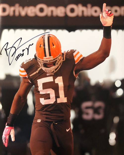 Barkevious Mingo Cleveland Browns 16-1 16x20 Autographed Photo - Certified Authentic