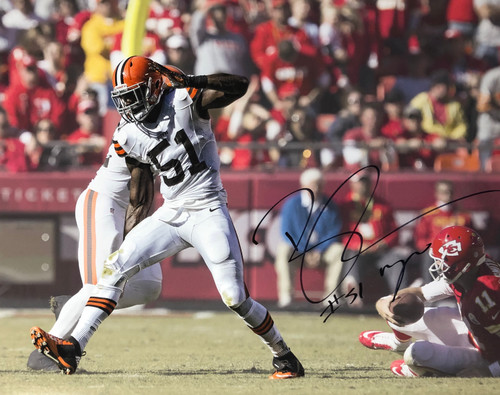 Barkevious Mingo Cleveland Browns 16-2 16x20 Autographed Photo - Certified Authentic