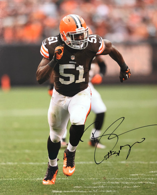 Barkevious Mingo Cleveland Browns 16-3 16x20 Autographed Photo - Certified Authentic