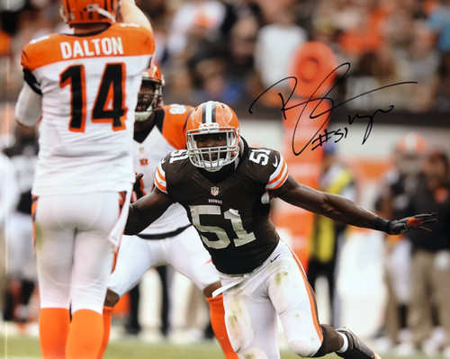 Barkevious Mingo Cleveland Browns 16-4 16x20 Autographed Photo - Certified Authentic