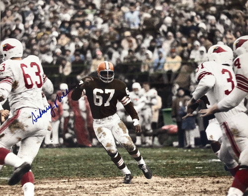 Sid Williams Cleveland Browns 16-1 16x20 Autographed Photo - Certified Authentic