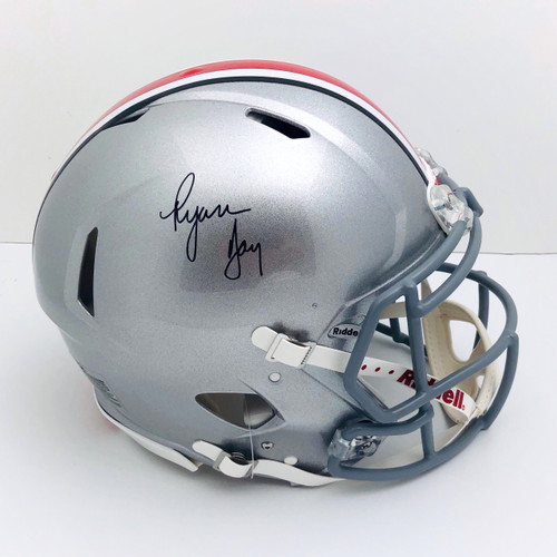 Ryan Day Ohio State Buckeyes Autographed Authentic Helmet - PSA Authentic