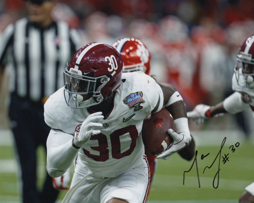 Mack Wilson Alabama Crimson Tide 8-1 8x10 Autographed Photo - Certified Authentic