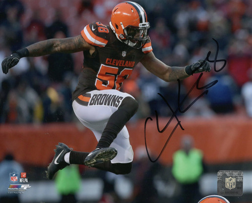 Christian Kirksey Cleveland Browns 8-2 8x10 Autographed Photo - Certified Authentic
