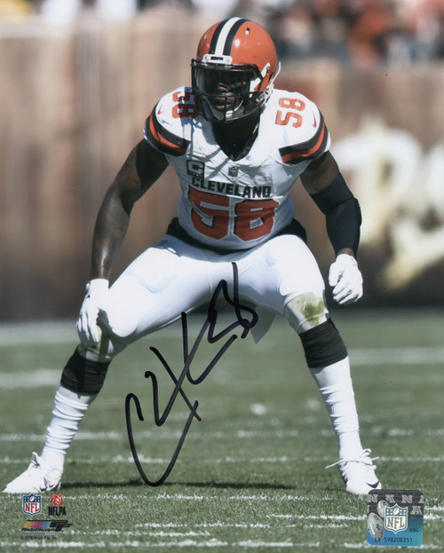 Christian Kirksey Cleveland Browns 11-1 11x14 Autographed Photo - Certified Authentic