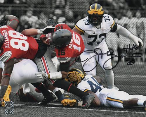 JT Barrett Ohio State Buckeyes 8-10 8x10 Autographed Photo - Barrett Hologram