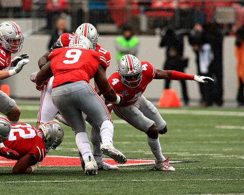Jordan Fuller Ohio State Buckeyes Licensed Unsigned Photo 3