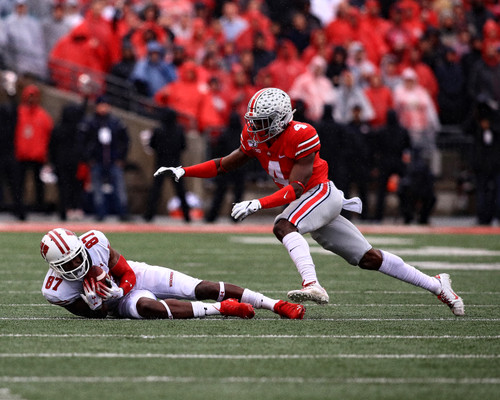 Jordan Fuller Ohio State Buckeyes Licensed Unsigned Photo 9
