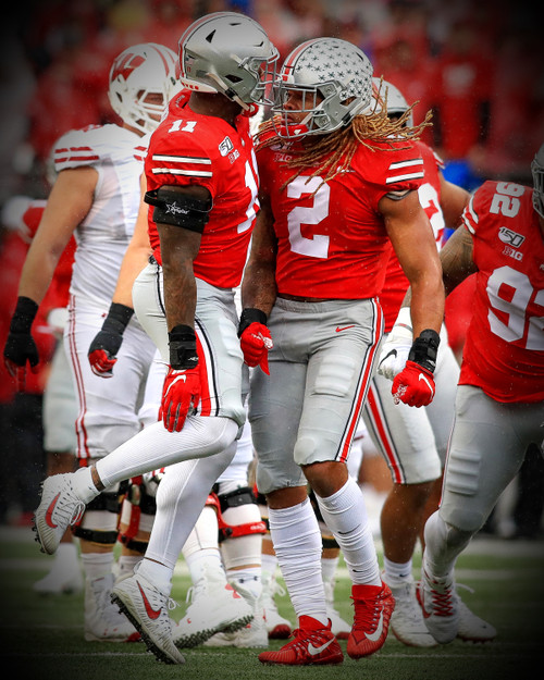 Chase Young Ohio State Buckeyes Licensed Unsigned Photo 2