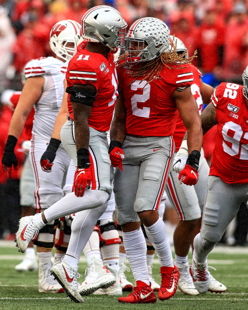 Chase Young Ohio State Buckeyes Licensed Unsigned Photo 3
