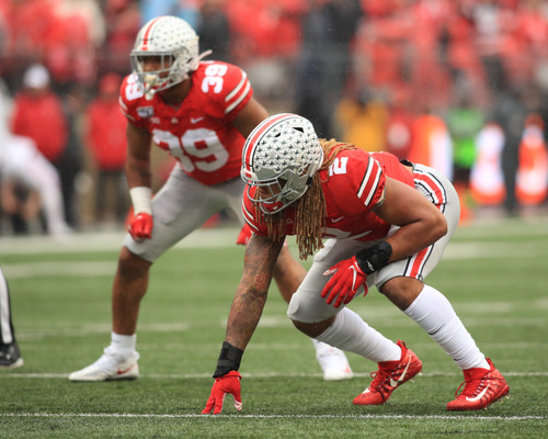 Chase Young Ohio State Buckeyes Licensed Unsigned Photo 10