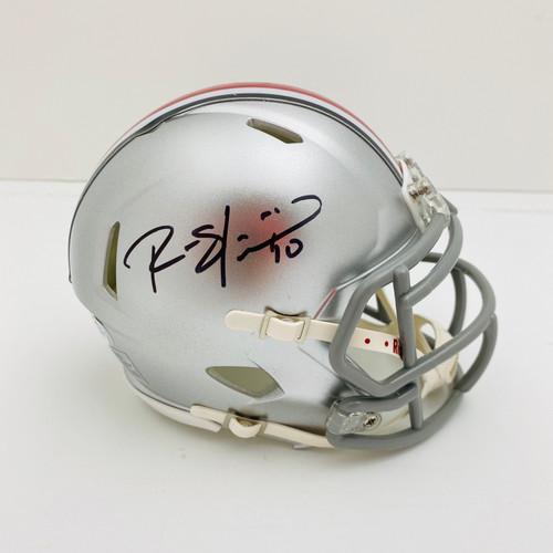 Ryan Shazier Ohio State Buckeyes Autographed Mini Helmet - PSA Authentic