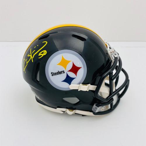 Ryan Shazier Pittsburgh Steelers Autographed Mini Helmet - PSA Authentic