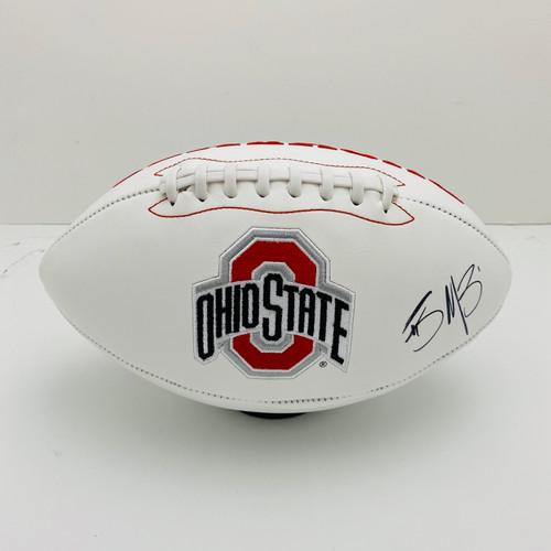 Braxton Miller #1 Ohio State Buckeyes Football Jersey - White