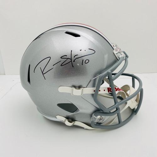 Ryan Shazier Ohio State Buckeyes Autographed Replica Helmet - PSA Authentic