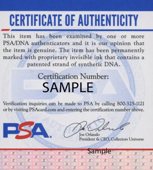 KJ Hill Ohio State Buckeyes Autographed Black Replica Helmet - PSA Authentic