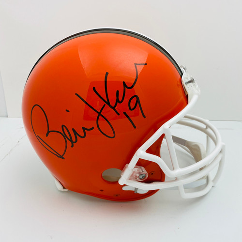 Bernie Kosar Cleveland Browns Autographed Authentic Helmet - Certified Authentic