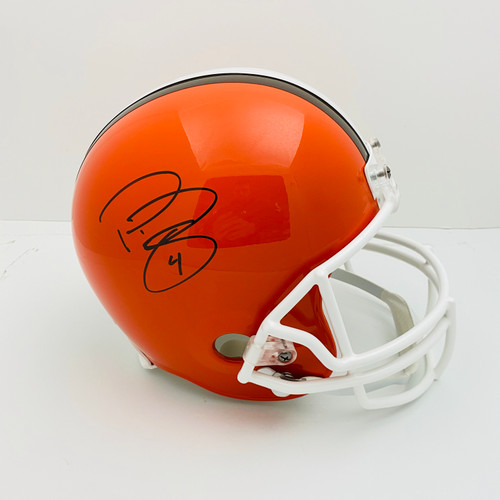 Phil Dawson Cleveland Browns Autographed Replica Helmet - PSA Authentic