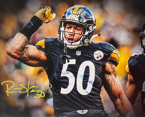 Ryan Shazier Pittsburgh Steelers 8-1 8x10 Autographed Photo - Certified Authentic