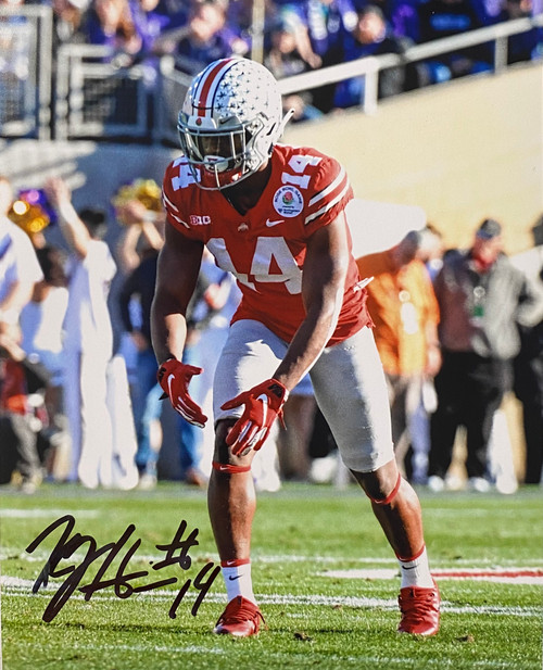 KJ Hill Ohio State Buckeyes 8-1 8x10 Autographed Photo - Certified Authentic