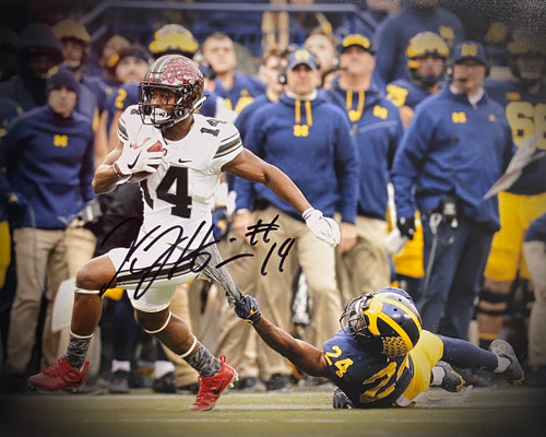 KJ Hill Ohio State Buckeyes 8-2 8x10 Autographed Photo - Certified Authentic