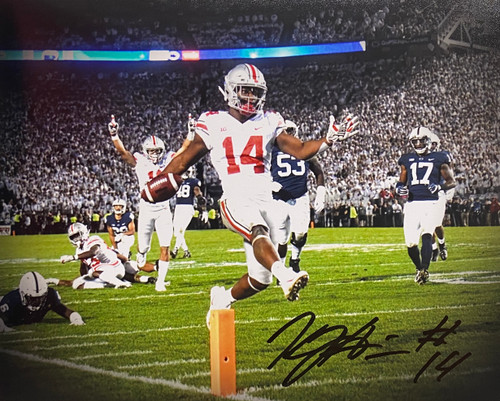 KJ Hill Ohio State Buckeyes 8-3 8x10 Autographed Photo - Certified Authentic