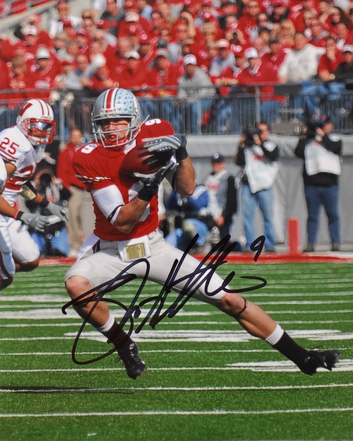 Brian Hartline Ohio State Buckeyes 8-2 8x10 Autographed Photo - Certified Authentic