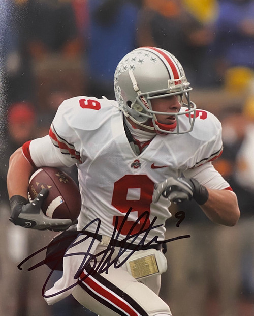 Brian Hartline Ohio State Buckeyes 8-5 8x10 Autographed Photo - Certified Authentic