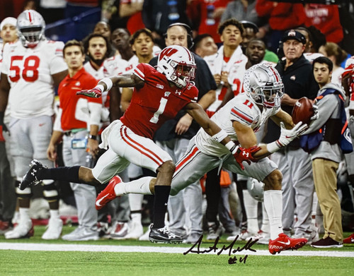 Austin Mack Ohio State Buckeyes 11-1 11x14 Autographed Photo - Certified Authentic