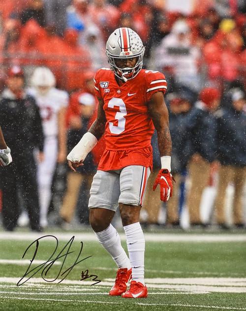 Damon Arnette Ohio State Buckeyes 16-1 16x20 Autographed Photo - Certified Authentic