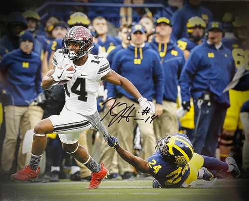 KJ Hill Ohio State Buckeyes 16-1 16x20 Autographed Photo - Certified Authentic