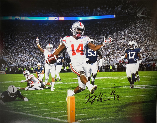 KJ Hill Ohio State Buckeyes 16-3 16x20 Autographed Photo - Certified Authentic